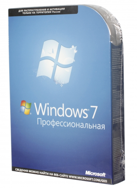 Win Pro 7 SP1 64-bit Russian CIS and Georgia 1pk DSP OEI DVD LCP
